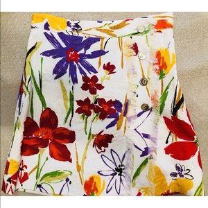 Dolce &  Gabanna Floral skirt size 40